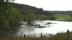 Flooding- Uringalla Creek NSW Stock Footage