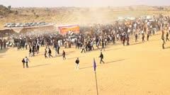 Camel Festival in Bikaner. Stock Footage