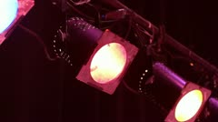 Stage Lights 2 - stock footage
