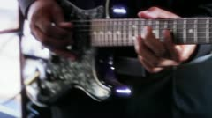 Professional Guitarist Stock Footage