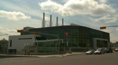 Architecture, Calgary, Energy centre Stock Footage