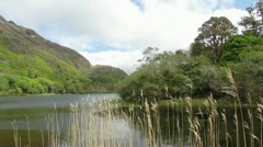 Kylemore Abbey 1 Stock Footage