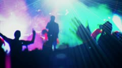 Stage and the audience [[[ Not only this ]]] - stock footage