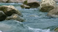 Mountain rivers of the Crimea. Stock Footage