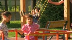 Playground 30 fps 03 Stock Footage