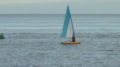 Sailing Dinghies Stock Footage