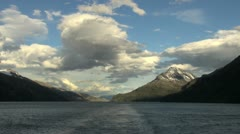 Patagonia Beagle Channel Glacier Alley s15 Stock Footage