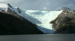 Patagonia Beagle Channel Glacier s7 Stock Footage