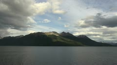 Patagonia Beagle Channel view Stock Footage
