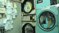 Stock Video Footage of Laundry service in Hong Kong