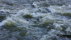 Rapid water in motion Stock Footage