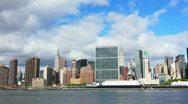 Stock Video Footage of Manhattan panorama