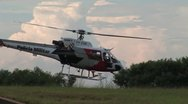 Police Helicopter 3 - Brazil Stock Footage