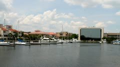 Pensacola Yacht Harbor Stock Footage