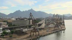 Rio loading docks Stock Footage