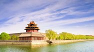 Forbidden City , Beijing, China Timelapse Stock Footage