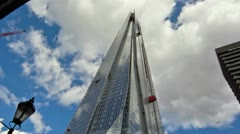 Time Lapse The Shard Tower Stock Footage