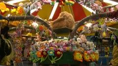 Amusement park 01 Stock Footage