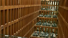 Grimm Library Timelapse Stock Footage