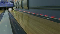 Bowling Stock Footage