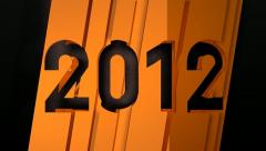 Year 2012 (HD) Stock Footage