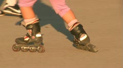 Roller Rink 3 Stock Footage