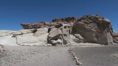 Chile Atacama archeological site - stock footage