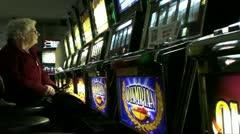 Slot Machine 3 Stock Footage