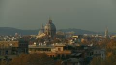 Rome Architecture (2) Stock Footage