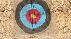 Archery Target - stock footage