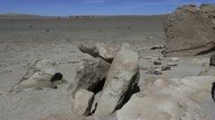 Chile Atacama archeological site Stock Footage