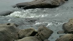 rocky stream water - hd - 1920x1080 - stock footage