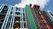 Georges Pompidou center. Stock Footage