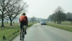 Cyclist Stock Footage