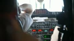 Aboard - stock footage