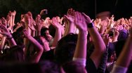Stock Video Footage of Crowd at concert