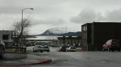 Streets of Anchorage - stock footage