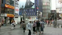 Shinsaibashi, Osaka, Japan (timelapse) Stock Footage