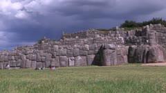 Peru: Sacsayhuaman Stock Footage