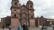 Stock Video Footage of Peru: Cusco Church