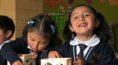 Stock Video Footage of Peru: Kids in Kindergarten Class