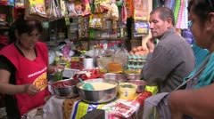 Peru: Buy and Sell Shop Stock Footage