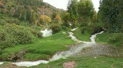 Peru: Mountain Streams - stock footage