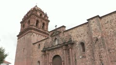 Peru: Cuzco Historic Center Stock Footage