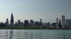Chicago Skyline - stock footage