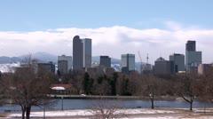 Denver Skyline Arkistovideo