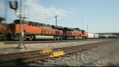 Freight Train Stock Footage
