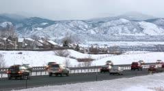 Daytime Highway - stock footage