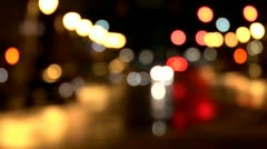 Out Of Focus City - stock footage