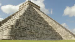 Chichen Itza Pyramid Stock Footage